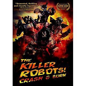 Killer robotter [DVD] USA importerer