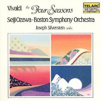 Ozawa/Bs/Silverstein - Vivaldi: Importación de Estados Unidos de las cuatro estaciones [CD]
