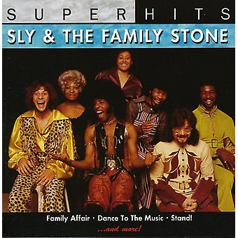 Sly & the Family Stone - Super Hits [CD] USA import