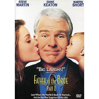 Far til bruden 2 [DVD] USA importerer