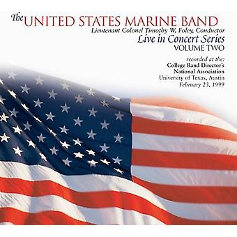 United States Marine Band - Live in Concert Series, Vol. 2 [CD] USA import