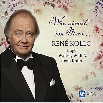 Rene Kollo - Wie Einst Im Mai-Rene Kollo Singt Walter Willi [CD] USA import