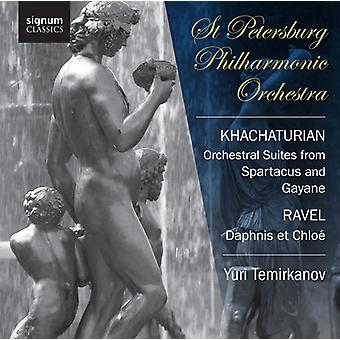Khachaturian/Ravel - Khachaturian: Orchestral Suites From Spartacus & Gayaneh; Ravel: Daphnis Et Chlo [CD] USA import