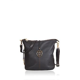 Cartmel Cross Body Bag i brunt