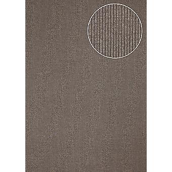 Luxury tree wallpaper Atlas COL-562-2 non-woven wallpaper luxury sparkling structured uni grey blue-eyed 5.33 m2