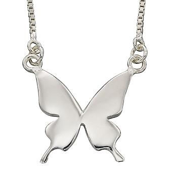 925 Silver Fashionable Butterfly Necklace