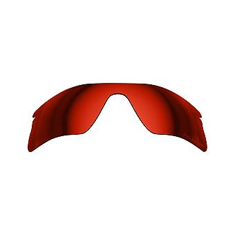 New SEEK Replacement Lenses for Oakley RADAR RANGE Red Mirror