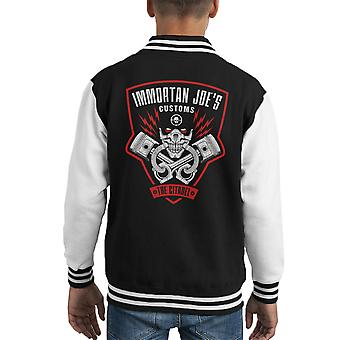 Immortan Joes told Mad Max raseri Road Kid's Varsity jakke