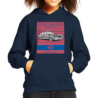 Haynes Workshop Manual 0108 Vauxhall Victor VX4 90 Stripe Kid's Hooded Sweatshirt