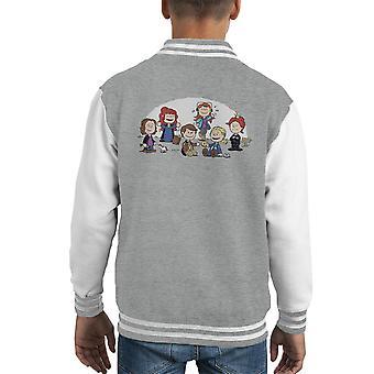 The Supernatural Girls Peanuts Kid's Varsity Jacket