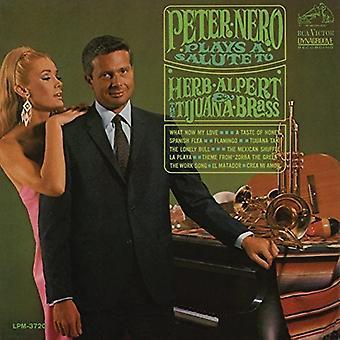 Peter Nero - Plays a Salute to Herb Alpert & the Tijuana Brass [CD] USA import