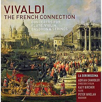 A. Vivaldi - Vivaldi: Importación de Estados Unidos la conexión francesa [CD]