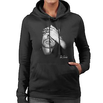 Keith Richards From The Rolling Stones Facepalm Women's Hooded Sweatshirt