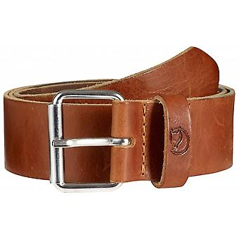 Fjallraven Singi Belt 4 cm Leather Cognac