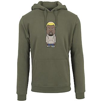 Mister tee Hoody - name one olive