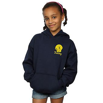 Looney Tunes Girls Tweety Pie Head Hoodie