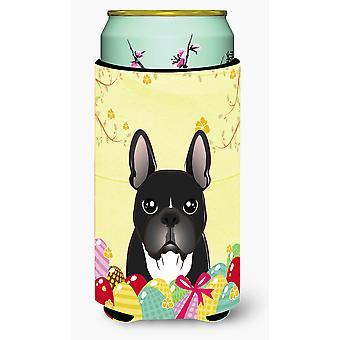 Bebida de Bulldog Francés Easter Egg Hunt alto muchacho aislador Hugger