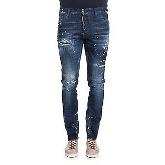 Dsquared2 men's S74LB0256S30342470 Blau cotton of jeans