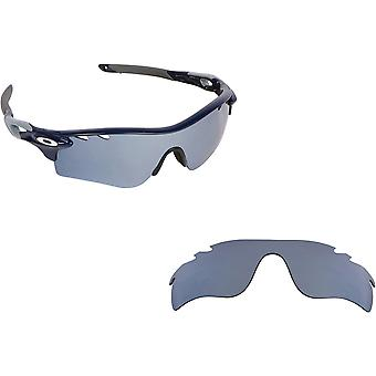 Best SEEK Polarized Replacement Lenses Oakley VENTED RADARLOCK PATH Asian Silver