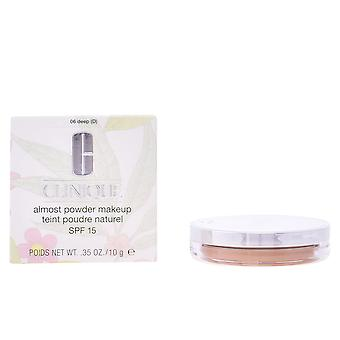 Clinique Almost Powder Makeup Spf15 Deep 10gr Womens New Sealed Boxed
