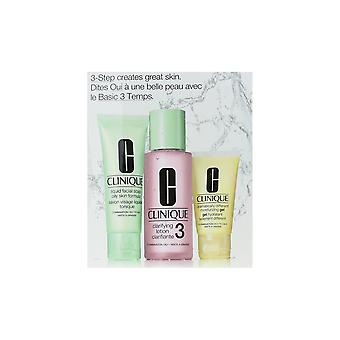 Clinique 3-Step Creates Great Skin Combination Oily Skin Type 3 Set New In Box