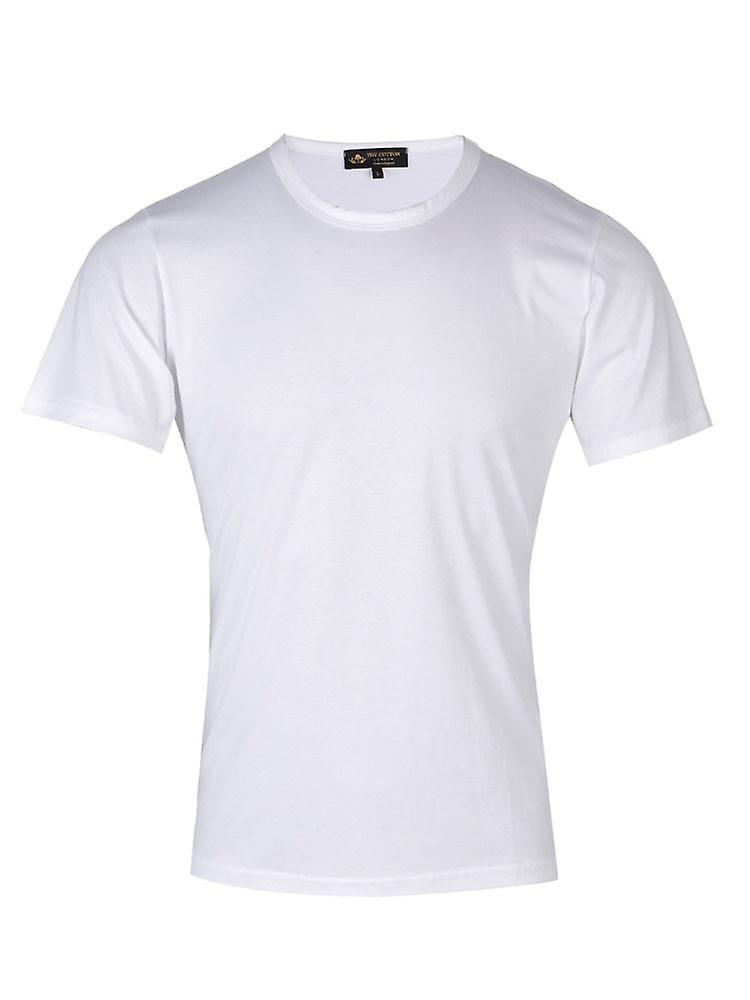 Short sleeve crew neck - white