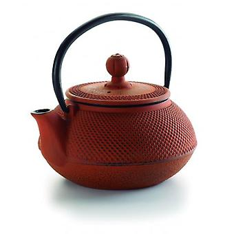 Lacor Cast iron tea pot bamboo 0,6 l (Kitchen , Household , Kettles and Milk pans)