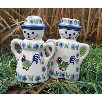 Salt + pepper shakers couples, 13.5 cm high, Bianca, BSN m-3463