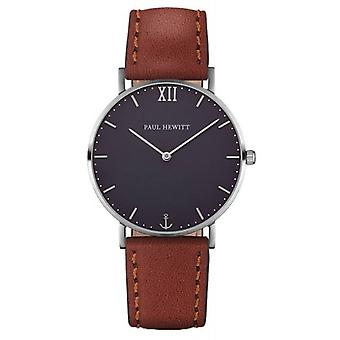 Paul Hewitt Sailor Line Quartz Watch - Brown/Blue