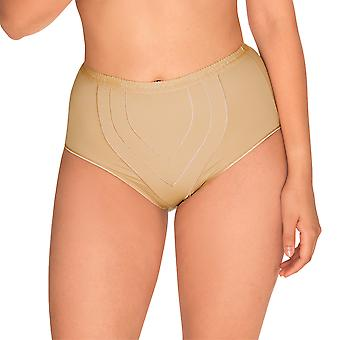 Sans Complexe 1538-Skin Women's Perfect Lift Nude Firm/Medium Control Slimming Shaping High Waist Brief