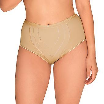 Sans Complexe 1538-hud kvinners perfekt heis naken firma/Medium kontroll slanking forme høy midje kort