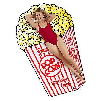 Beach towel popcorn bag towel Beach blanket popcorn cloth sheet ca 192 x 120 cm