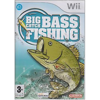 Big Catch Bass Fishing (Wii) - Factory Sealed