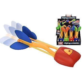 3X Flying Missiles Rubber Catapult Slingshot
