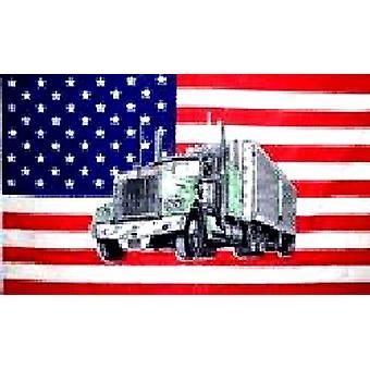USA amerikanske 'lastbil' Flag