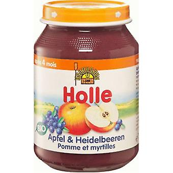 Holle Baby apples + Cranberry Eco 1 (Childhood , Healthy diet , Pots)
