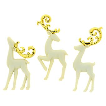 Dress It Up Holiday Embellishments-Majestic Reindeer