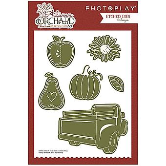 Photo Play Paper Etched Dies-Autumn Orchard