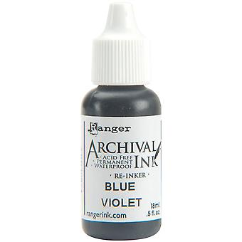 Archival Pad Re-Inker .5oz-Blue Violet
