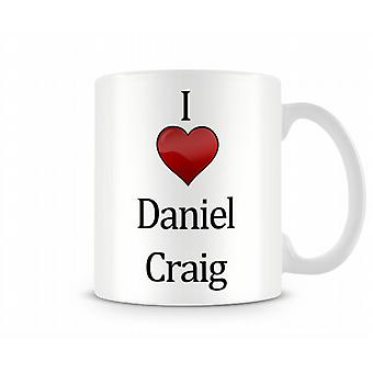 Uwielbiam Daniel Craig drukowanych kubek