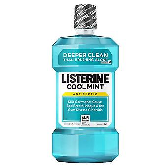 Listerine Cool Mint antiseptisk mundskyl, Cool Mint, 1,5 L