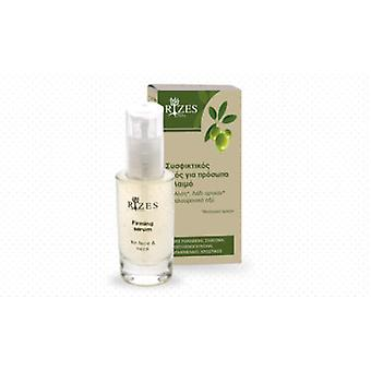 Firming serum for face and neck with Aloe vera.