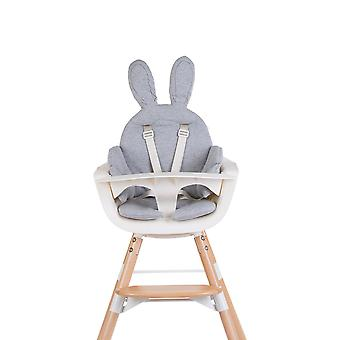 Accueil enfant-lapin universelle Baby Table siège coussin Jersey-gris