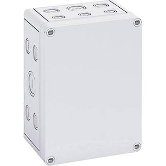 Build-in casing 130 x 180 x 90 Polycarbonate (PC) Light grey Sp