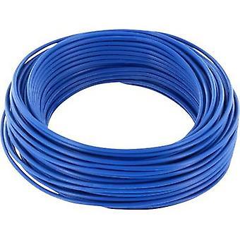 Jumper wire 1 x 0.20 mm² Blue BELI-BECO D 105/10 10 m