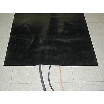 Cable protector mat Feinriefenmatte Black