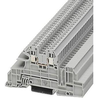 Phoenix Contact UTI 2,5-L 3076034 Industrial terminal block Number of pins: 2 0.2 mm² 4 mm² Grey 1 pc(s)