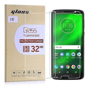 Extra Armoured Tempered Glass for Motorola Moto G6 Plus (5.93) - 2 Pack