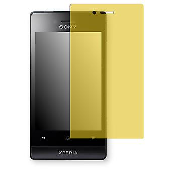 Sony Xperia ST23i screen protector - Golebo view protective film protective film
