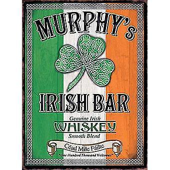 Murphy'S Irish Bar Small Steel Sign 200Mm X 150Mm
